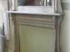 Stunning Fireplace Mantel with Mirror